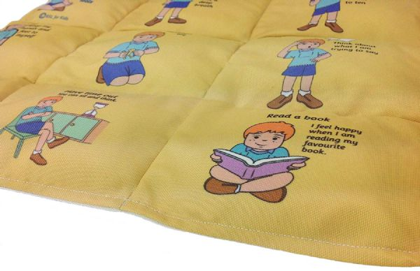 2Ilb Weighted Lap Blanket, I Can Calm Myself Down Kit & 65cm Living Puppet (Autism, ASD, SEN)